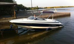 selling our 2011 larson lx850,this boat has been our baby and we have done many upgrades.. bimini top,sony cd player with amp,we added 6 speakers all marine,low to the water swimming plat form that you really don't need the ladder to climb up on,depth