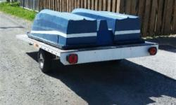 Good used condition Fiberglass fishing boat. Comes with insurable Trailer & more! Please contact for more details! Thanks