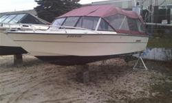 Boat is in fair condition ,V8 merc ,