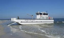 54' HENLEY Landing Craft ( NEW ) Price: $265,000.00 example: with twin 300hp diesels -- $345,000.00 Lifetime warranty against cracking. Power packages (Diesel or Gas) Inboards / Inboard/Outboards / Outboards / Jet Drives - Payload : 40,000lbs - Beam 16' -
