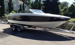 2008 Cobalt 202, (now known as the 210). - Volvo 5.7 Gi DP (300HP) - snap-in carpet - step-down ladder - bow and cockpit tonneau covers - temp/depth gauges Very nice shape and ready to be enjoyed! New Road King Tandem Axle Trailer also available.