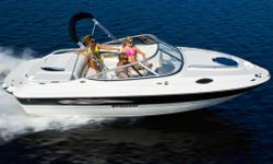 M.S.R.P. . CONTACT US FOR INTERNET SAVINGS! This may be our entry-level sport deck cuddy, but there is nothing small about this boat. Its extra wide stance makes room for a 15 side entryway to provide quick and easy boarding, while giving up little