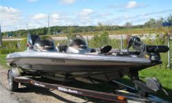 HERE IS A CLEAN 2001 TRITON TR 20 THIS PACKAGE HAS A EVENTUDE 200 FICT TROLLING MOTOR TRAILER AND COVER NOT A BIG INVESTMENT TO GET INTO A 20 FOOT QUALITY BASS BOAT TRADES WANTED.