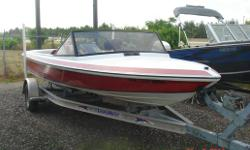 Need to pull a few skiers around? This inboard ski boat is perfect recent engine rebuild cover  trailer