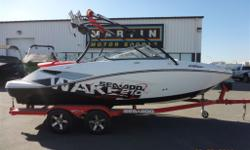 $152 Bi-Weekly Versatile Runabout Perfect For Family Boating! Payments As Low As $152/Bi-Weekly!430 HP Jet Drive Rotax Engine, Tower, 155 Engine Hours, 4 Tower Speakers, SeaDoo Cruise Control, Bungee Board Racks, Amp/Sub, Stereo, Tower Mirror, Cup