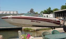 Looking to go for a cruise down the lake or a quick ski on smooth as glass lake, this boat can do it all. It has custom bow and cockpit covers, Clarion Stereo and only 116 hours. Call today to have a look at this Mastercraft. Specifications Length Overall