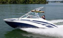 "GREAT BOARDING or SKIING BOAT Specifications Displacement: 1812cc Pumps: 155MM High-Pressure Impeller: 3-blade, stainless steel Length Overall (LOA): 255 Beam: 8'6"" Draft: 15"" Dry Weight: 3060 lbs Fuel Capacity: 50 gal Storage Capacity: 536.6 gal Oil"