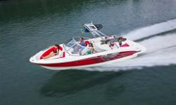 The 215 doesn't settle for routine fun on the water-it's all about making priceless memories. It sets the stage with outstanding spaciousness and seating options, standard 4.3-liter Mercury power and storage compartments throughout the boat. Opting for