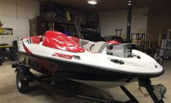 2009 Seadoo Speedster 150 with 215 hp supercharged motor Fantastic family boat for tubing, water skiing or wakeboarding. Handles like a Seadoo but allows the family to come along for the ride. Top speed 52+ mph. - 56 original hours - new battery - 4