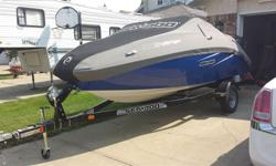 Like new, seadoo challenger 180. 215 hp. In mint condition, only 14hrs! Bought new in 2011. New Bimini top installed.