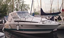 1993 Bayliner 3055 Ciera 32' LOA, 10' beam Beautiful boat. Immaculate condition, New seats last year and 3 year old new camper top. Twin 5.0 V8 mercruiser engines, navigation flood lights, runs smooth. GPS, Radar, Fishfinder, fridge, dual stove, coffee