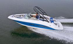 All new for 2013, the Sea Ray 21 Jet is everything a jet boat was meant to be. It combines the agility and athleticism of a finely engineered sport boat with the craftsmanship and comfort of a premium bowrider. In other words, this is a true boat, in