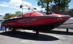 Come and see this one of a kind 2200 with the ultimate RX package. This boat has low hours and will come with a Crates warranty. Totally loaded! Hull and Deck Compass, Depth Sounder, Horn(s), Navigation Lights, Wiper(s), Full Engine Instrumentation. Cabin