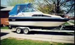 1990 EZ Loader Trailer Stand Up Head Powered by a 4.3 Litre V6 Mercruiser 205 Hp (Economical), May be purchased as boat and trailer for REDUCED TO $10,900.00 OBO Or with complete fishing equipment: 4 Big Jon-Down-riggers (electric), Planner boards,