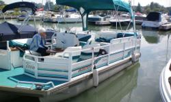2012 Tandem Trailer ,Solar Cell Battery Charger ,2 Tables ,2013 Garmin Fish Finder ,Boarding Ladder ,2 Built In Fuel Tanks .