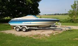 22 ft See Ray Pachange 265 merc 350 60 mph trailer included Very Clean Sounds awesome