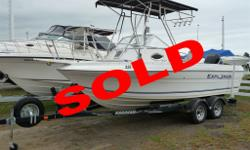 SOLD Fresh trade, 23' Walkaround, Mercury 200 Optimax, hard top, trailer Large used boat inventory including Seaswirl, Lowe, Searay, Four Winns, Chaparral, Larson, Seadoo, Bayliner, Maxum, Ranger, Mariah, Tiara, Chris Craft, Cruisers, Cruisers Inc.,