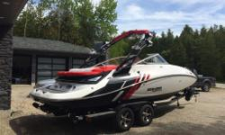 a must see. 10 hours on it and rarly used. wakeboard tower, speakers, navigation, to much to list. Must Go. call Nick at 519 895 6425