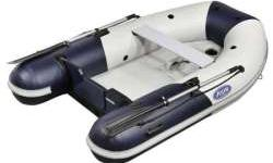 Zoom 230 SlatStandard Features � 2 years Zodiac Recreational Manufacurer Warranty. - outlined profile rubbing strake - bow handle - double seal valves - 1100 decitex fabric - 2 towing D-rings - internal bulkhead - 2 reclining oar supports - reinforced