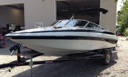In excellent condition Only 48 hours Comes with boaster seats Complete with trailer 4.3 $23900