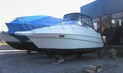New Outdrive - Completely Detailed!  Stereo, Compass, Trim Tabs, VHF, Bimini Top, Fridge, Stove, Head included!