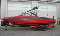 CALGARY Excellent Condition With Only 13 Hours! The Boat of The Stars. How Do You Think They Got Up There? The all new and completely restyled 242 is the boat of choice for Supra?s team of pro riders, so you know this ride has plenty to keep even the most