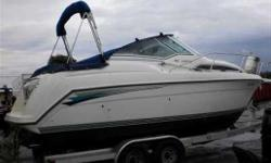HULLY GULLY BOAT SPECIALS NOW IN EFFECT * * This a great weekend cruiser with all the comforts of home. She has a dinette, settee, mid-cabin, full galley Includes: Volvo 5.7 l duo prop. Full camper top, Tonneau cover (one owner, Fresh water usage only) We