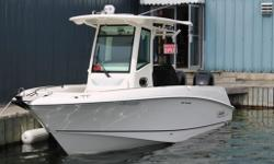 $154,995.00* *PLUS $6,500.00 FREIGHT, MAKE READY & LAUNCH 250 Outrage Seize the day---and prize fish---aboard the striking 250 Outrage. Mercury power options range up to dual 225-hp FourStroke Verado outboards, and with a huge 175-gallon fuel tank, the