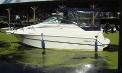This is a very clean example of a great little pocket cruiser. Perfect boat for a family just starting the cruising lifestlye and it won't break the bank.Powered by a desireable Volvo Duo Prop, it will allow you to confidently drive and dock it with