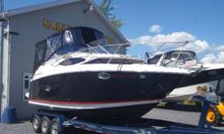 This popular 2565 Regal has all the right stuff including Volvo Duo-Prop, full camper canvas, large swim platform and snap oout cockpit carpet! Own this today at a fraction of what a new one costs! Hull and Deck Chart Plotter, Compass, Depth Sounder, Full