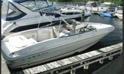 The perfect Lake Simcoe day cruiser. Take your family boating today. Hull and Deck Compass, Depth Sounder, Horn(s), Navigation Lights, Wiper(s), Full Engine Instrumentation. Cabin and Interior  Navigation Compass, Depth Sounder, Horn(s), Navigation