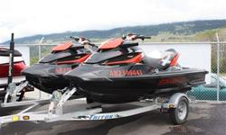 Up for sale are TWO, 2010 SEA-DOO/BRP RXT-X 260. Awarded the 2010 Personal Watercraft of the Year as Award by Jet Skier & PW Magazines. This model redefines performance with 260hp and the best power-to-weight ratio among three-seaters. This is the fastest