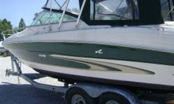 DEAL PENDING DEAL PENDING DEAL PENDING This Sea Ray is wide, roomy and stable. The SeaRay 260 offers you speed, control and comfort all in one.Trim tabs, Bravo 3 stern drive and complete with full camper top. Boat comes with Easy Load tandem trailer. Call
