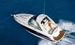 *Boat is not exactly as shown* Climb aboard the very finest in trailerable cruisers. The 260SCR is a perfect blend of style and functionality. Ample storage under the sun island and helm station assure that everything finds a place. Molded in steps in the