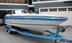 MINT 1988 SeaRay PACHANGA with 496 Big Block! This boat is Immaculate and is one of SeaRay's finest performance boats. A must see! Spacious Cuddy with storage and porta-potty. New custom interior - white/dark grey upholstery, dark grey carpet and cuddy
