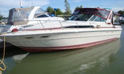 1988 34 sundancer, 840 hours, --air, heat, generator, radar, windlass, remote spotlight, garmin 521s, halon, vacuflush head, new windows screens and mattresses in 2013---professionaly maintained.
