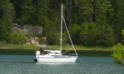 REDUCED PRICE 2007 MACGREGOR M26 Ready to SAIL Easy sailer, dagger board, trailerable to any lake or ocean, cabin outfitted for week ends or week away. Versatile week end cruiser.