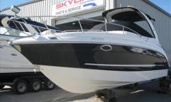 Just taken on trade, this is a loaded 270 and perfect as a family weekend cruiser. She is loaded with options like heat/air, windlass, remote spotlight, GPS, and she is power by a 496 Mercruiser/ Bravo III. She is a local boat, always fresh water and she