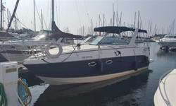 Well cared for fresh water Rinker 270 Fiesta Vee. A generous abeam and spacious accommodations accompanied by a long option list including A/C, heat, windlass, GPS chartplotter amongst the many will make this boat a comfortable cruiser. Vessel is