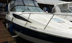 Mercruiser 350 Mag 300hp With A Bravo Three Drive, Blue Hull, Hot Water System, Shore Power, Holding Tank, Fridge, Stereo/CD. Extras Include: Electric Windlass, Remote Spotlight, Teak Saloon Floor, Uniden VHF, Northstar GPS. Very Clean & Ready to Cruise.