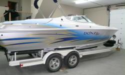2005 Donzi 28 zx with twin 350 mpis boat will do 72 mph. Has bimini top, cockpit cover, $7000 stereo, garmin in dash gps, power bolster seats, heritage trailer and double stepped hull. Boat is freshwater and is always inside on the trailer.