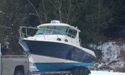 2007 Seaswirl Striper 2901 with Alaskan Hard Top for sale. This boat has been maintained, was just serviced, and is ready for the 2016 fishing and boating season. Boat Details: Power: 2 x D4 Volvo Penta Engines with 260HP each for a combined total of