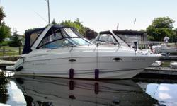 This well maintained cruiser was purchased new at Bayview and has been serviced and stored here since new. We can provide all of the service records on the boat since it was launched new in 06. This boat has been meticulously maintained and has