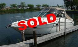 SOLD Many recent upgrades including: canvas, upholstery, mahogany floors, carpet, GPS. This vessel is fully loaded including generator, A/C and heat, windlass, radar arch, A MUST SEE! S E A R A Y S P O R T C R U I S E R S 2 0 0 2 2 9 0 A M B E R J A C K