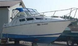 JUST REDUCED!!! $12,000.00 EVERYTHING MUST GO!!!! BOAT MUST GO IMMEDIATELY!!!!! NO REASONABLE OFFER WILL BE REFUSED!!! Twin 4.3 Litre Volvo Penta SX Duoprops. Loaded with Air Conditioning, Cabin heat and Generator!! We have fitted a new full camper top
