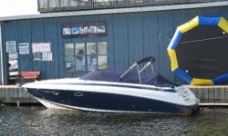 2001 COBALT 293 CUDDY DAY CRUISER  $59,900.00  BROKERAGE SALE  BOAT IS STORED OFF SITE.  PLEASE CALL FOR VIEWING APPOINTMENT     This 293 is a local St. Lawrence boat that has approximately 450 hours and has always been professionally maintained.