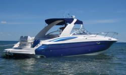 REDUCED from $79 900 to $71 900 Features: - This boat is in immaculate condition - Just over 50 MPH by GPS - Cruises at 37 to 43 MPH - Only used in a fresh water lake Exterior: - Professionally custom painted exterior in 2010 by Ron Bankes Marine. - Rear