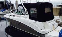 30' SeaRay Sundancer in a perfect condition due to planned up-sizing. This is a turn-key boat and there are no issues.