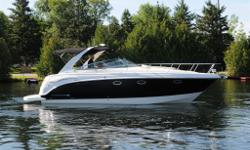 Merc 350 Mag DTS Axius B3 | Electric Table | Wide Band Black Hull | Radar Arch w/Hinge | Dockside Water Inlet | Anchor Stainless Steel | Accessory Pkg. (Cabana Fabric)-Neutral | Cockpit Gas Grill | Prem Speaker Upgrade w/Amp & Sub | Refridgerator | Garmin
