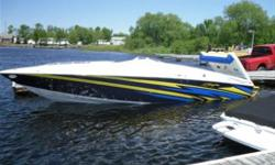 Very clean, Low hours, matching covers, travel cover, custom trailer, custom aluminum swim platform, awesome big water boat.   Make an offer!!